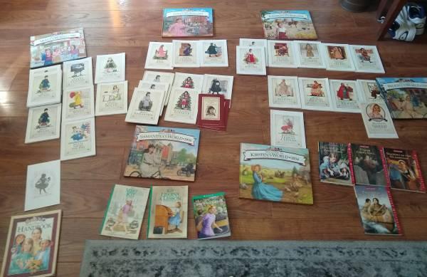 Photo Massive American Girl Doll Book Collection - $100 (Laguna Niguel)