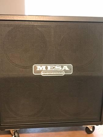 Photo Mesa Boogie 4x12 Rectifier Traditional Slant Cab - $675 (Diamond Bar (Phillips Ranch))