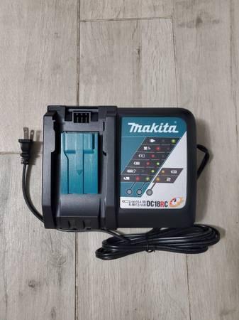 Photo New Makita 18-Volt LXT Lithium-Ion Rapid Optimum Battery Charger - $40 (Santa Ana)