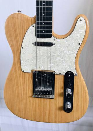 Photo Optek Fretlight Series 400 Electric Guitar Fender Squier Telecaster Tele Style - $165 (Huntington Beach)