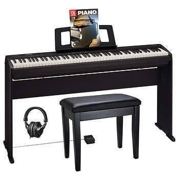 Photo ROLAND F-140R PIANO. NEW IN THE BOX WITH BENCH - $1,295 (COSTA MESA)