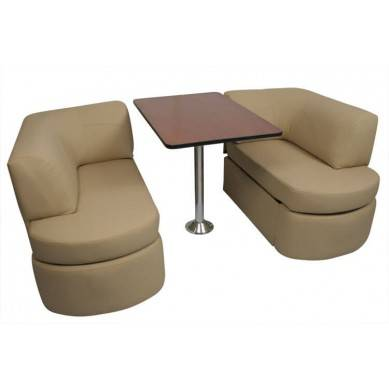 Photo RV dinette Table with seat - $600 (yorba linda)