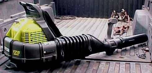 Photo RYOBI 175 MPH 760 CFM 38cc Gas Backpack Leaf Blower LIKE NEW - $130 (CERRITOSBUENA PARK AREA)