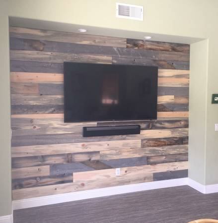Photo Reclaimed Barn Wood MIX 5050 Lumber Paneling... - $4 (The Real Stuff ... On SALE)