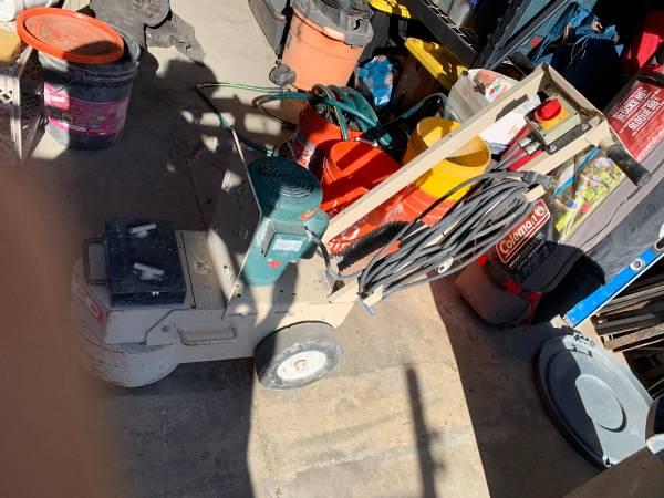 Photo Reduced Edco Concrete Floor Grinder - $1200 (Yorba Linda)