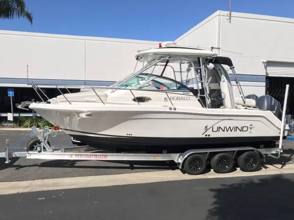 Photo Robalo R265 Express Twin Yamaha 25039s - $85,000 (Huntington Beach)