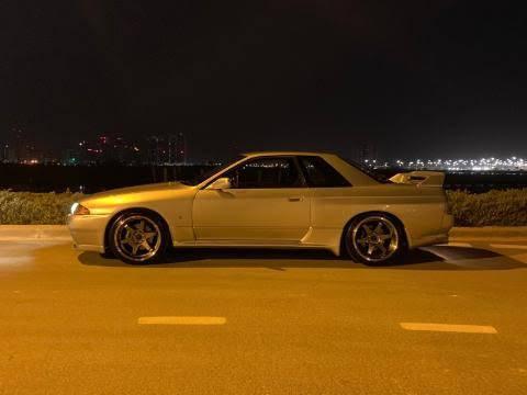 Photo SKYLINE R32 GTR 1989 - $38,000 (ORANGE)