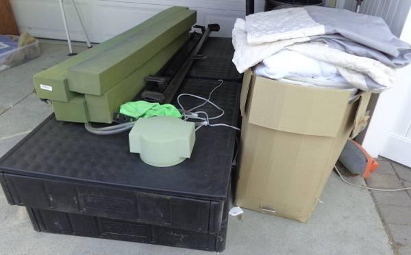 Photo Select Comfort Sleep Number Bed and Desk (Huntington Beach)