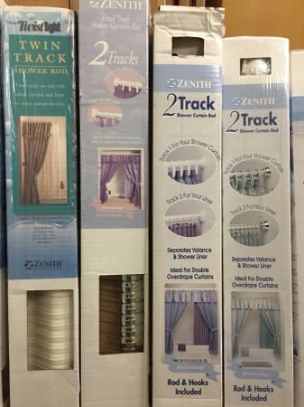 Photo Shower Rod (TwinDual2 Tracks on 1 Rod) - $15 (Fountain Valley)