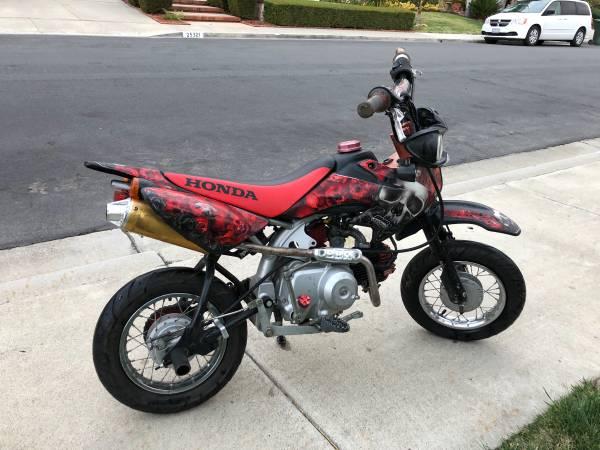 Photo Street legal Honda CRF 50 - $2600 (Laguna Hills)