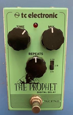 Photo TC Electronic The Prophet Digital Delay Pedal - $65 (Huntington Beach)