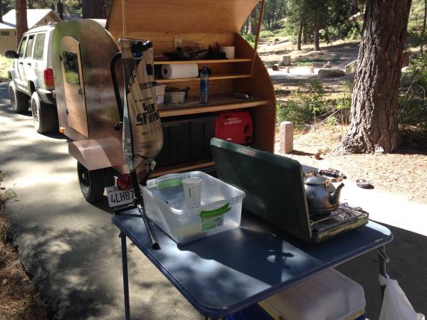 Photo Teardrop trailer - $4,800 (Cypress)