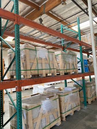 Photo Used Heavy Duty Pallet Racks for Warehouse for SALE - $350 (Anaheim)