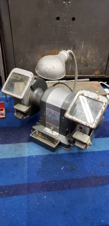Photo Vintage 1960s Sears Craftsman Mailbox style Bench Grinder 13 hp - $160 (Garden Grove)