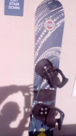 Photo Vintage 198039s Oxygen Xe 52 goofy Snowboard - $500 (Tustin)