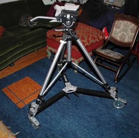 Photo Vintage, Bogen Manfrotto Professional Tripod and dolly - $450 (Westminster)