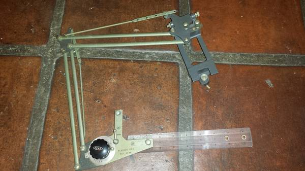 Photo Vintage Kent Plaider 600 Drafting Machine Small Size - $75 (Garden Grove)
