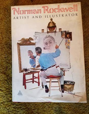 Photo Vintage Norman Rockwell extra large book - $100 (Huntington Beach)