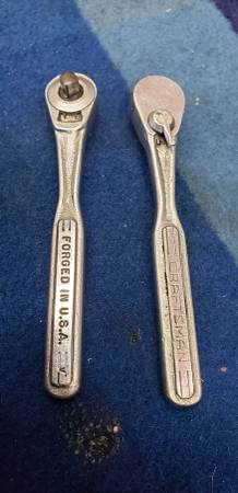 Photo Vintage Sears Craftsman 14quot Drive Ratchet v 1960s - $25 (Garden Grove)