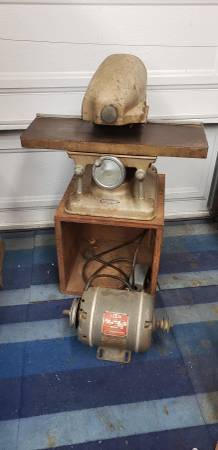 Photo Vintage Sears Craftsman 1940s 195039s Alien Head Thickness Planer - $240 (Garden Grove)