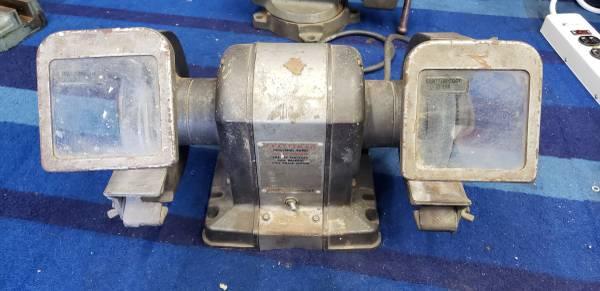 Photo Vintage Sears Craftsman 1960s 13hp Bench Grinder - $130 (Garden Grove)