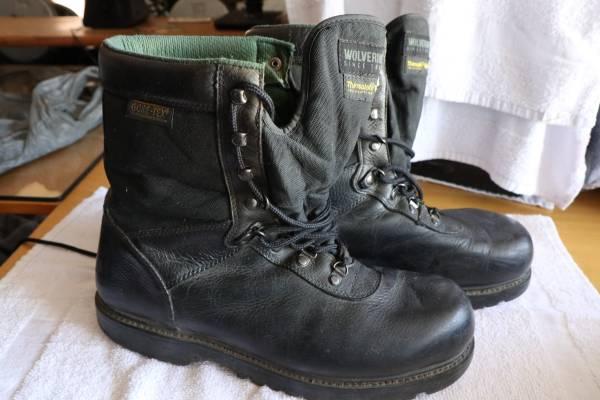 Photo Wolverine Sport 03851 Work Boots, Gore-Tex, Black Leather, Thinsulate, - $49 (Huntington Beach)