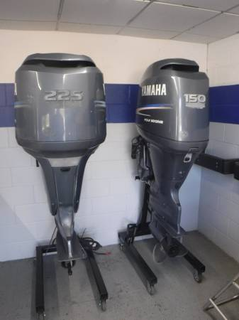 Photo Yamaha 150hp  225hp 4-Stroke Outboards......starting  - $6,400 (Sea Witch Marine)