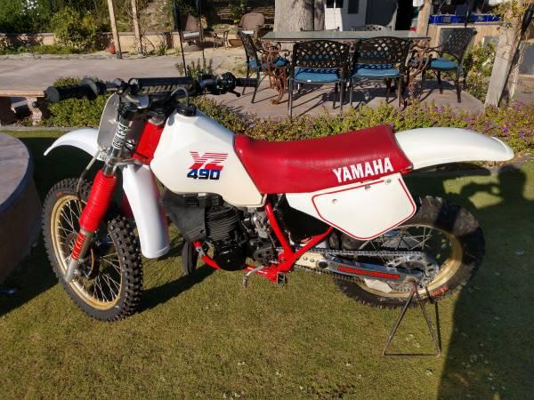 Photo Yamaha 1986 YZ 490 - $3,200 (San Clemente)