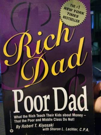 Photo BOOK Rich Dad Poor Dad What the rich teach their kids about money (city of Orange  BEST OFFER)