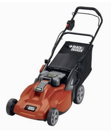 Photo BRAND NEW - Black  Decker CM1936 Cordless Electric Lawn Mower  - $200 (Orange)
