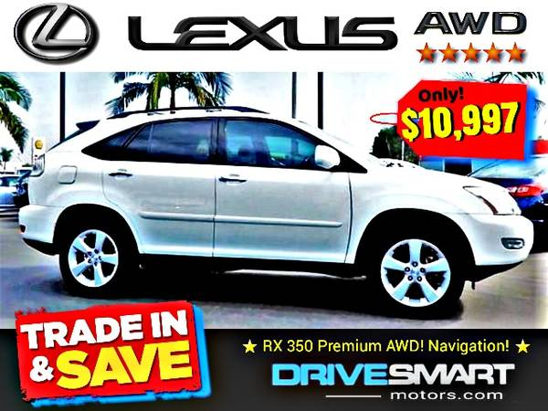 Photo quotALL-WHEEL-DRIVE LEXUSquot  IMMACULATE LEXUS RX 350 BAD CREDIT OK - $10,997 (1 YELP DEALER LOWEST PRICES BEST FINANCING quot714-852-8496quot)