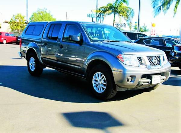 Photo quotGREAT TRUCKquot  1-OWNER 2016 NISSAN FRONTIER CREW CAB BAD CREDIT OK - $16,997 (1 YELP DEALER GET APPROVED IN MINUTES quot949-689-8124quot)