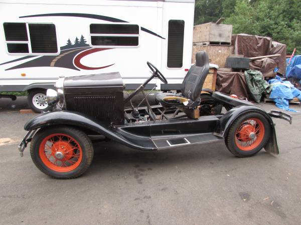 Photo 1930 Ford Model A Chassis - $4,600 (Coquille)