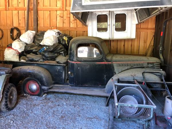 Photo 1946 Chevy Pickup - $8,500 (Myrtle Point)