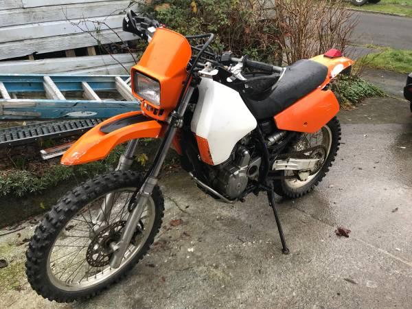 Photo 1996 Suzuki Dr 350 - $2000 (astoria)