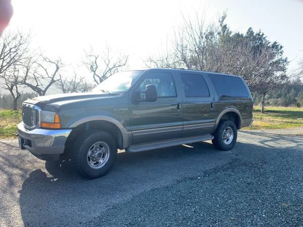 Photo 2001 Ford Excursion 7.3 Limited Diesel - $10,800 (North Bend)
