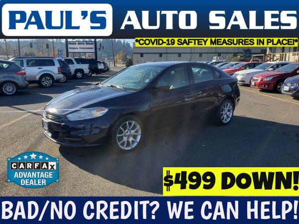 Photo 2013 DODGE DART SXT LOW MILESPOOR CREDIT IS NO PROBLEM - $8,990 (FIRST TIME BUYERS WELCOME HERE)