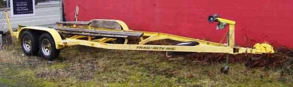 Photo 23 ft Heavy Duty Boat Trailer - $1,950 (Coos Bay)