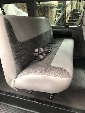 Photo 2 1998 Ford E-350 van bench seats - $250 (Yachats)