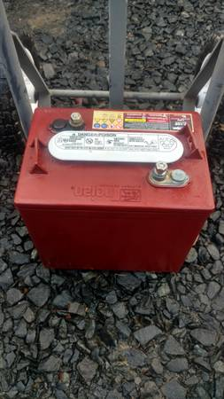 Photo 4 TROJAN 6 Volt Deep Cycle Batteries - $80 (Coos Bay)
