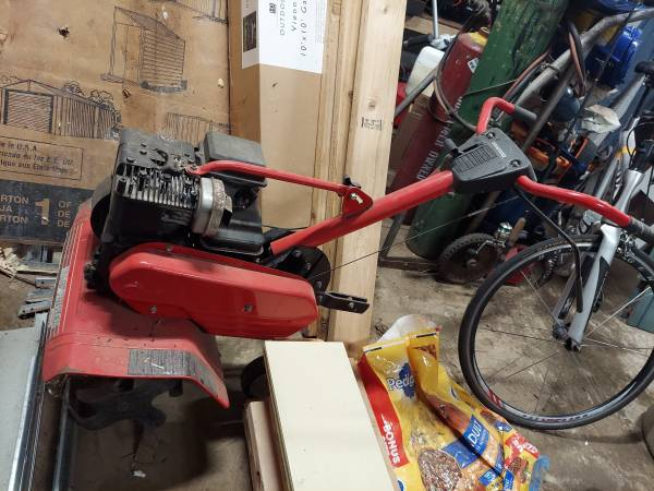 Photo 5HP rototiller- Briggs and Stratton - $200 (Tillamook)