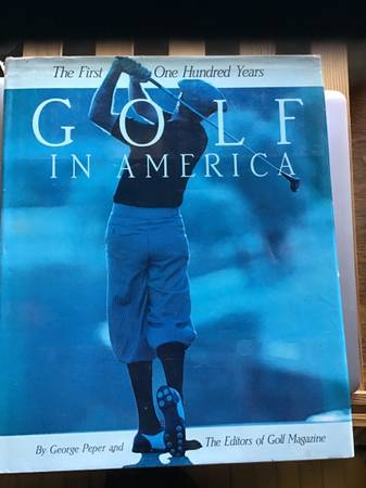 Photo Book, golf first 100 years - $25 (Coos Bay)