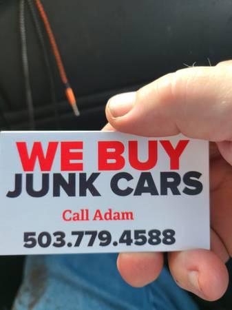 Photo Cash 4 junk vehicles $$$$$$ - $100 (Blodgett Alsea hwy 34 Tide water)
