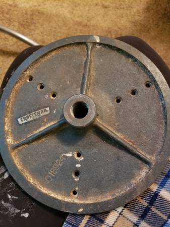 Photo Craftsman Wood Lathe Face Plate - $50 (Florence)