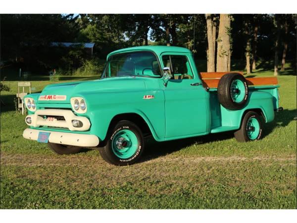 Photo FULLY RESTORED VINTAGE 1959 GMC 100 PICK-UP TRUCK $27.5K OBO - $27,500 (North Bend)