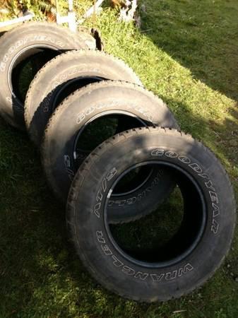 Photo Goodyear Wrangler Tires - $40 (Port Orford)