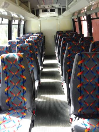 Photo Shuttle Bus Seats - $50 (Bandon)