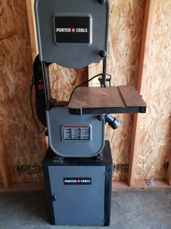 Photo Stand up Porter Cable band saw - $350 (LINCOLN CITY)