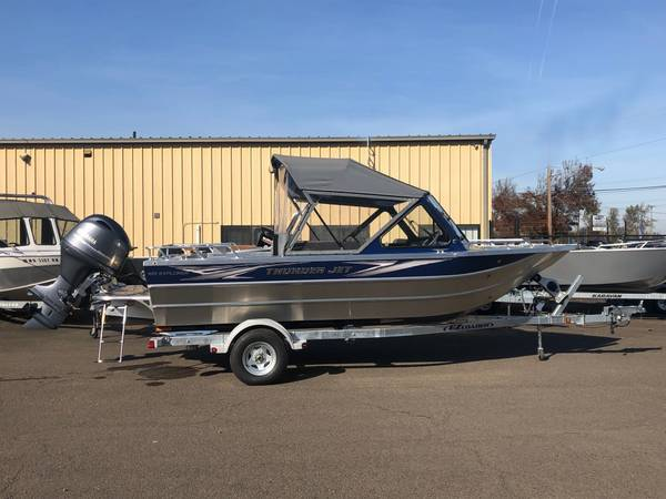 Photo Thunder Jet 185 Explorer - Yamaha 115 - Close out pricing on all 2019s - $39995 (1700 Hwy 99 N Eugene)