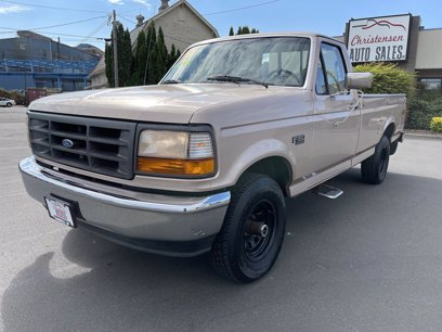 Photo Used 1996 Ford F150 4x4 Regular Cab for sale